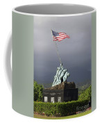 The Iwo Jima Statue Coffee Mug by Michael Wood