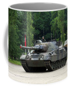 The Leopard 1a5 Mbt Of The Belgian Army Coffee Mug by Luc De Jaeger