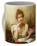 The Letter Coffee Mug by George Goodwin Kilbourne