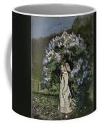 The Lilac Bush Coffee Mug by Olaf Isaachsen