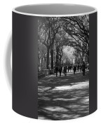 The Mall At Central Park Coffee Mug by Rob Hans