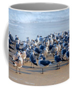 The Monday Morning Meeting Coffee Mug by Susanne Van Hulst