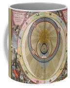 The Planisphere Of Brahe Harmonia Coffee Mug by Science Source