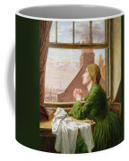 The Song Of The Shirt Coffee Mug by Anna E Blunden