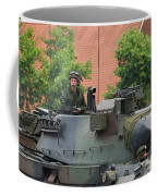 The Turret Of The Leopard 1a5 Main Coffee Mug by Luc De Jaeger