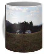These Old Barns Coffee Mug by Robert Margetts