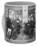 Thomas Edison In Quadricycle Coffee Mug by Photo Researchers