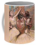 Three Dancers Coffee Mug by Edgar Degas