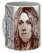 Three Interpretations Of Celine Dion Coffee Mug by J McCombie