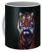 Tiger Tiger Coffee Mug by Michelle Wrighton