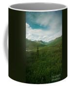 Tombstone Mountain Coffee Mug by Priska Wettstein