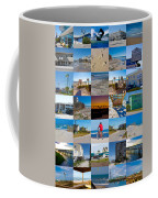 Topsail Visual Contemporary Quilt Series II Coffee Mug by Betsy Knapp