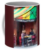 Tortilla Flats Greenwich Village Coffee Mug by Susan Savad