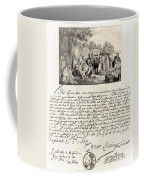 Treaty Between William Penn Coffee Mug by Photo Researchers