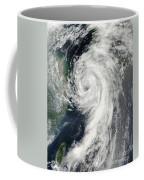 Tropical Storm Dianmu Coffee Mug by Stocktrek Images