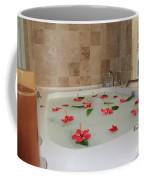 Tub Of Hibiscus Coffee Mug by Shane Bechler