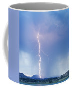 Twisted Lightning Strike Colorado Rocky Mountains Coffee Mug by James BO  Insogna