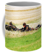 Two Soldiers Of The Belgian Army Coffee Mug by Luc De Jaeger