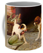 Uncorking The Bottle Coffee Mug by William Henry Hamilton Trood