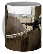 U.s. Army Soldier Searching Coffee Mug by Stocktrek Images