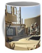 U.s. Army Soldiers Take Accountability Coffee Mug by Stocktrek Images