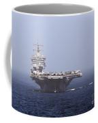 Uss Enterprise In The Arabian Sea Coffee Mug by Gert Kromhout