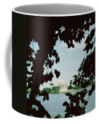 View Of The Jefferson Memorial Coffee Mug by John Russell Pope