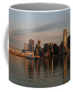 View Of The Waterfront And Downtown Coffee Mug by Darlyne A. Murawski