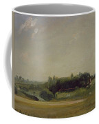 View Towards The Rectory - East Bergholt Coffee Mug by John Constable