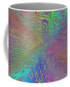 Warp Of The Rainbow Coffee Mug by Tim Allen