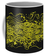 Water Pattern Coffee Mug by Setsiri Silapasuwanchai