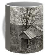 Weathered Hillside Barn Coffee Mug by John Stephens