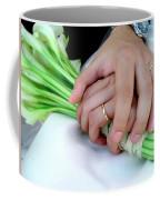 Wedding Rings Coffee Mug by Carlos Caetano