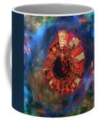 Wee Manhattan Planet - Artist Rendition Coffee Mug by Nikki Marie Smith