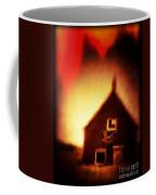 Welcome To Hell House Coffee Mug by Edward Fielding