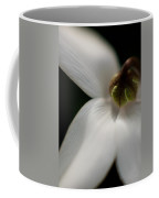 White Graceful Coffee Mug by Mike Reid