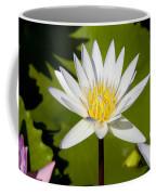 White Lotus Coffee Mug by Kelley King