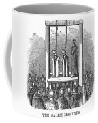 Witches: Execution, 1692 Coffee Mug by Granger