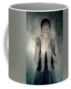 Woman With Doll Coffee Mug by Joana Kruse