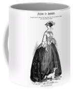 Womens Fashion, 1857 Coffee Mug by Granger