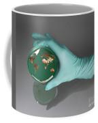 World Inside A Petri Dish Coffee Mug by Photo Researchers