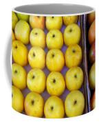 Yellow Apples Coffee Mug by Carlos Caetano