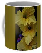 Yellow Trio Coffee Mug by Susan Herber