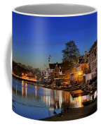 Boathouse Row  Coffee Mug by John Greim