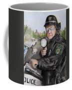 Gotcha Coffee Mug by Jack Skinner