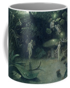 Scene From 'a Midsummer Night's Dream Coffee Mug by Francis Danby