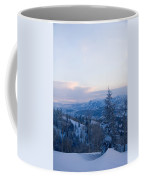 A View Out Over The Mountains Of Utah Coffee Mug by Taylor S. Kennedy