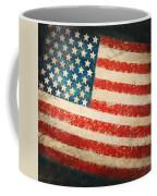 America Flag Coffee Mug by Setsiri Silapasuwanchai