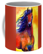 Arabian Horse 1 Painting Coffee Mug by Svetlana Novikova