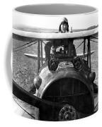 Captain Eddie Rickenbacker  Coffee Mug by War Is Hell Store